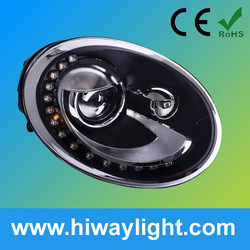 headlight assembly kit HID projestor lens led drl angle eyes for VW Beetle