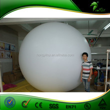 Enjoying High Reputation 3 Meter White Helium Ballon,Air Balloon