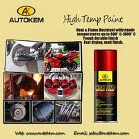 high temp spray paint, heat resistant aerosol paint (800 C-1000 C)