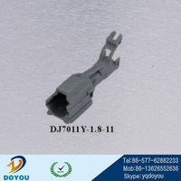 DJ7011Y-1.8-11 KET/MG640280 equivalent 1way male car connector