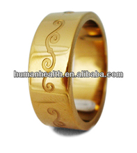 clamp ring with screw tainless steel roman numeral spinner ring