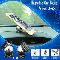 A-8 Magnetic phone holder for car bicycle mount holder for samsung galaxy S4, S3