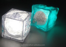 Resin acrylic beauty shine LED light up ice cube