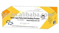acid test kit heart-type fatty acid-binding protein rapid test kit (Colloidal gold)