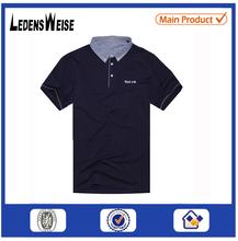 short sleeve high quality 100% cotton man wholesale custom polo shirt