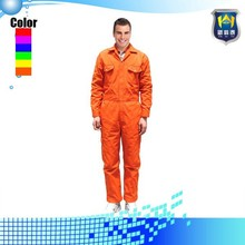 65% Polyester 35% Cotton 220gsm Fabric Twill Industrial Fireproof Safety Uniforms Workwear for Mechanic Mens