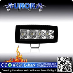 "Moderate in price 4"" single row car led off road light bar"
