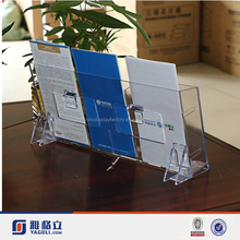 Bottom price most popular wall mounted acrylic book shelf