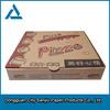 Customized Courrugated logo aluminum foil paper pizza box