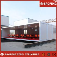 exquisite movable prefabricated light steel frame storage container kit house