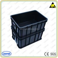 ESD/Conductive Circulation plastic Box/conductive box esd plastic box