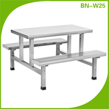 stainless steel dining table and chair sets/restaurant dining tables