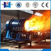 Asphalt plant Coal fired burner