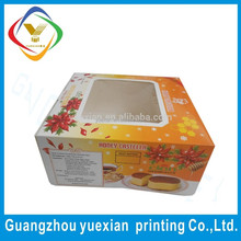 food packaging boxes cardboard window / frozen food box packaging / packaging box for donuts