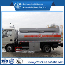 Factory price new condition DongFeng 5000 liters fuel tanker truck for sale