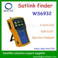4.3'' lcd hd dvb-s mpeg4/s2 buscador de satélite satlink ws-6932