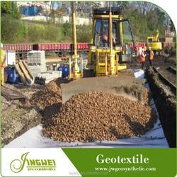High stabilization gravel separation geotextile PET