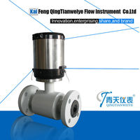 Battery operated electromagnetic flowmeter/digital flowmeter