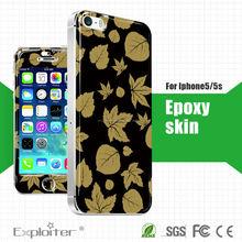 Mobili colla epossidica pelle(per iphone5/5s mobile)