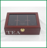 Tea Box, Wooden Tea Box, Custom Tea Box