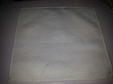 100% recycled cotton white cotton floor cloth