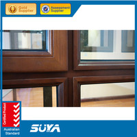 2015 SUYA Aluminum alloy window comply with Australian standards AS2047 AS2208 AS1288