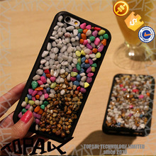 2016 new product phone case popular stone phone case mobile cover