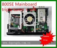 China receptor digital via satellite Sunray800 HD se wifi Triple Tuner -S2/-C/-T