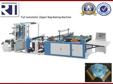 Professional Plastic Film Zipper Bag Machine Factory
