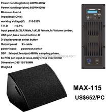 """MAX-115 15"""" active monitor"""