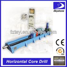 horizontal de núcleo de perforación