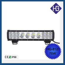 Mixed 3W 10W Power 76W 13.5 inch led light car bar off road TRUCK driving car