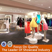 hot sale women clothes store fixtures with top quality