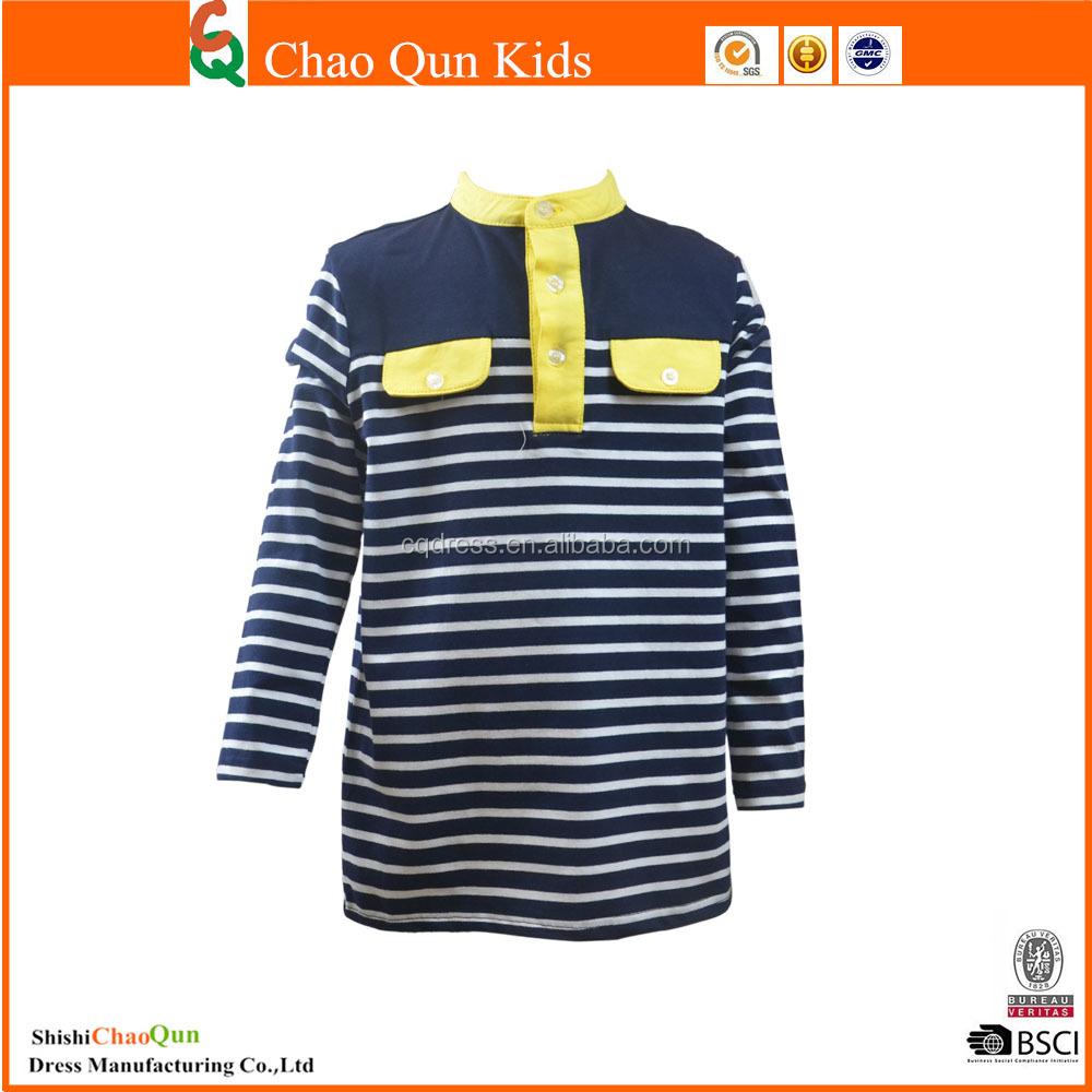 T Children T Shirt With Stripe Printed T Shirt Blank