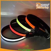 best selling products 2015 TZ-PET1038 dog collar pvc reflective pet accessories dog collar clasp