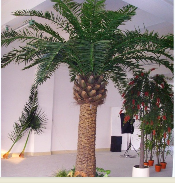 Wire decorative crystal palm trees for centerpieces in for Palmiers artificiels