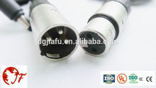 3 dmx pin cable macho a hembra/profesional 3-pin cables dmx