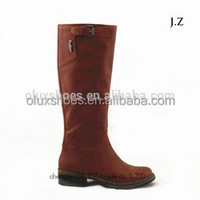 LQEB23 mexican western leather boots for women boots tube