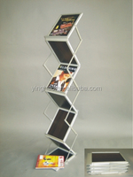 Acrylic Material newspaper stand design