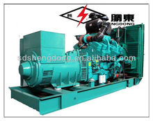 30kw/37.5kva Diesel Generators used in industry , hospital , oil field with brushless alternator SD-30