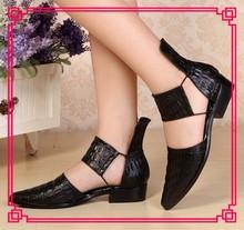 Latest design fashion lady class man shoe