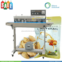 Plastic Stand-up Pouch new style continuous pvc heat sealing machine