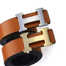 Fashion High Quality Metal Brushed Finish H Shape Belt Buckle