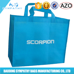 China wholesale high quality non woven bag shopping bag,pp non woven shopping bag