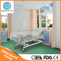 Three functions manual bed,nursing bed, hospital bed