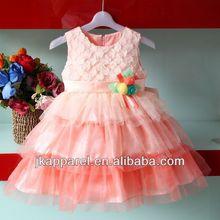 venta al por mayor hinchada niñas vestidos para niños jk8814