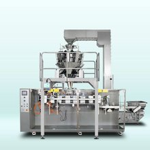 Horizontal pouch packing machine for dried mango