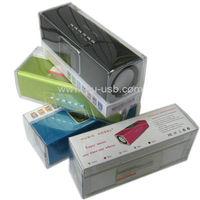 Music Angel JH-MAUK5 Speaker, Support FM Radio, U disk + TF Card Reader