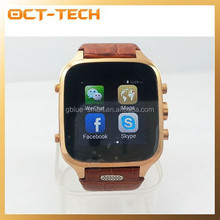 Android watch phone 2015 dual core,New bluetooth GPS smart watch phone
