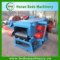 China manufacturer CE approval industrial electric hydraulic drum wood chipper